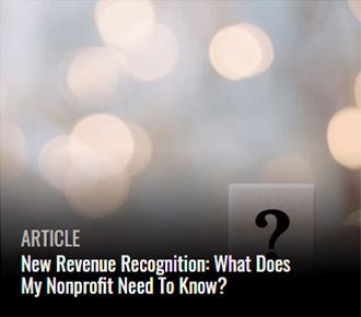 Rev Rec Nonprofits