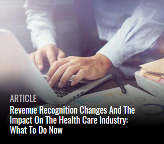 Revenue Recognition impact on healthcare industry