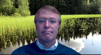 Zoom background - Finnish lake