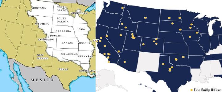 Portland State LA purchase map w eide bailly