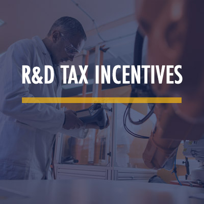 R&D Tax Incentives