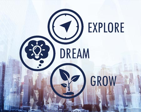 Explore. Dream. Grow.