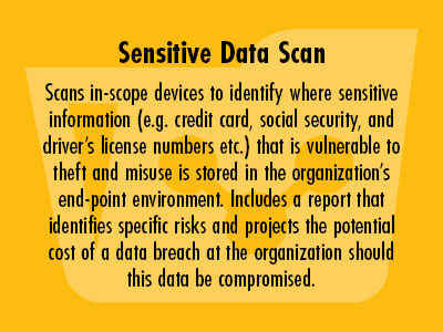 Sensitive Data Scan